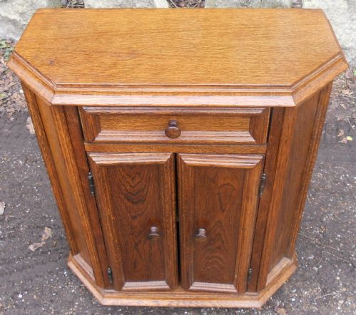 Small Oak Side Cupboard